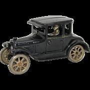 "1926-1927 Arcade 6 3/4"" Model T Coup"