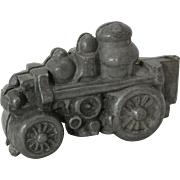 Early Pewter Steam Engine Ice Cream Mold