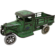 "1929-1934 Arcade 5 3/4"" Ford Farm Stake Truck"