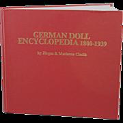 SALE PENDING German Doll Encyclopedia 1800-1939  Book with Signed Certificate by Jurgen & Marianne Cieslik