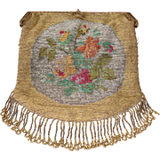 19th Century  German beaded purse