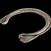 Old Heavy Burmese Tribal 999 Silver Choker