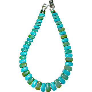 Hubei Turquoise Necklace By Estrella