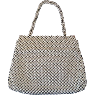 Whiting and Davis Alumesh Handbag