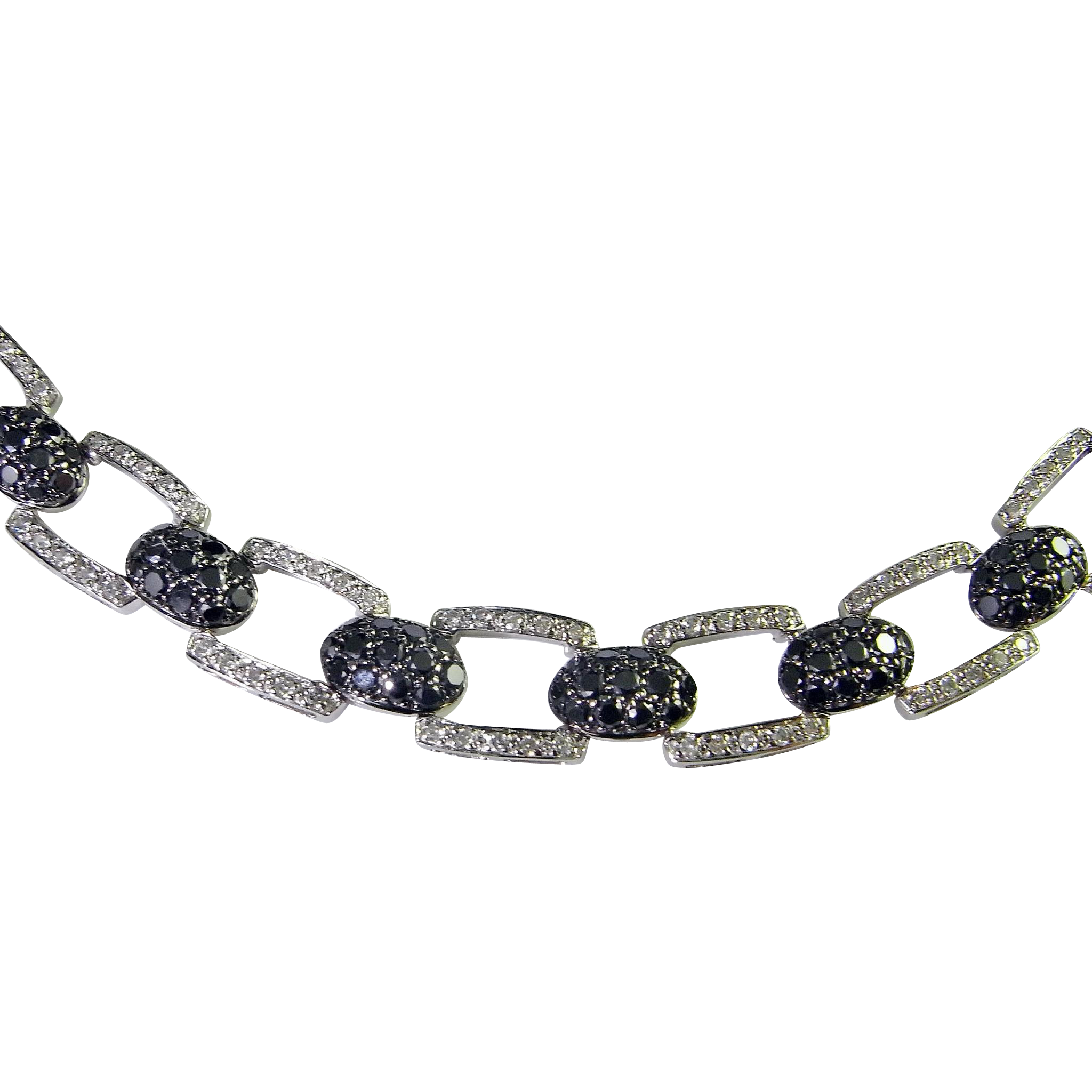 diamond bridge black bead jewelry jeweler necklace ben