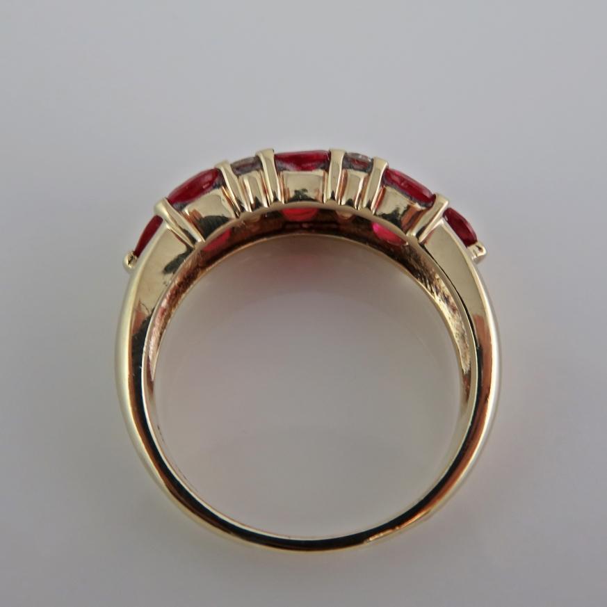 ruby ring ruby band wedding band ruby
