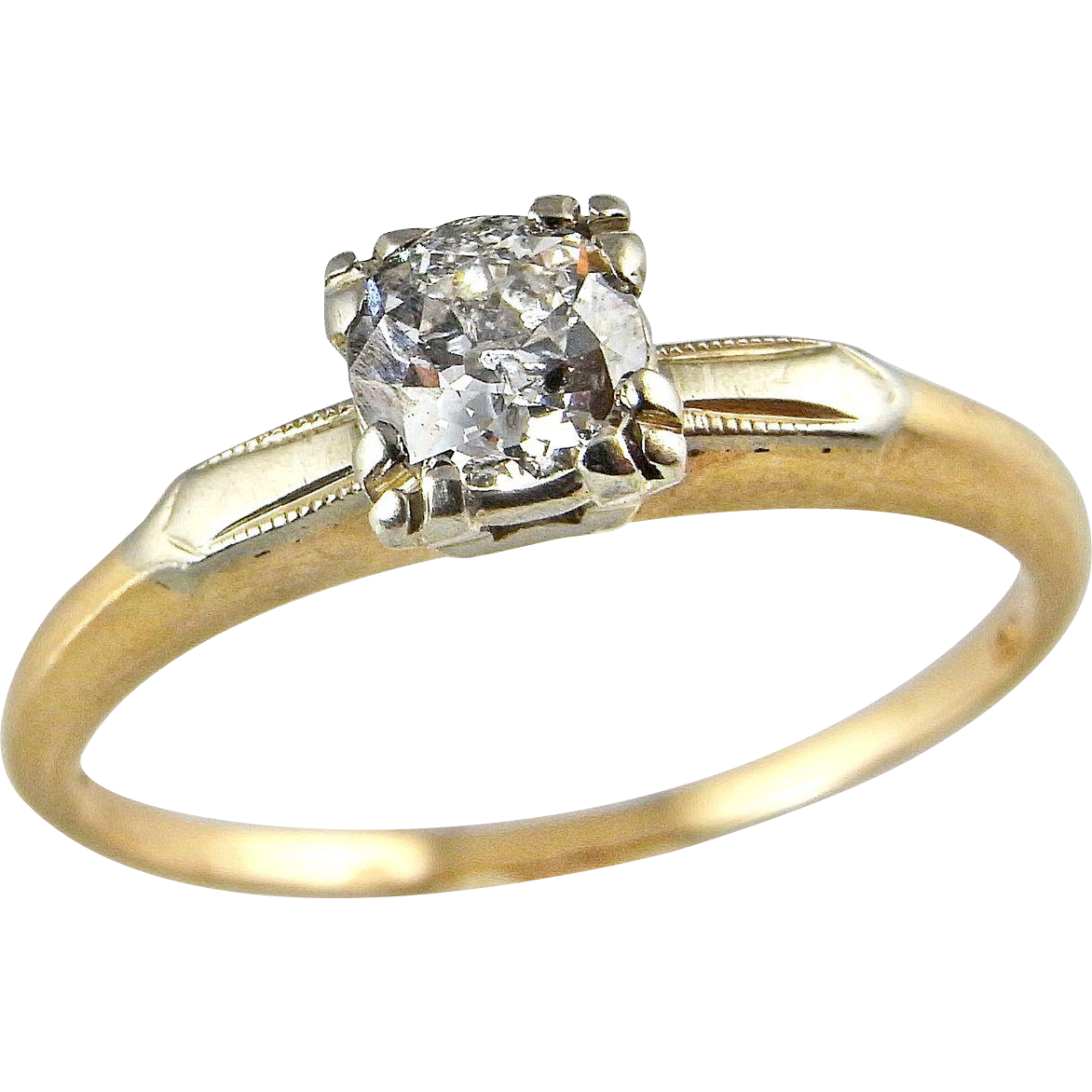 Antique s Engagement Ring Estate Jewelry vintage wedding rings Antique s Engagement Ring Estate Jewelry 14K Gold s s Art Deco Handmade Diamond Ring Vintage Engagement Ring