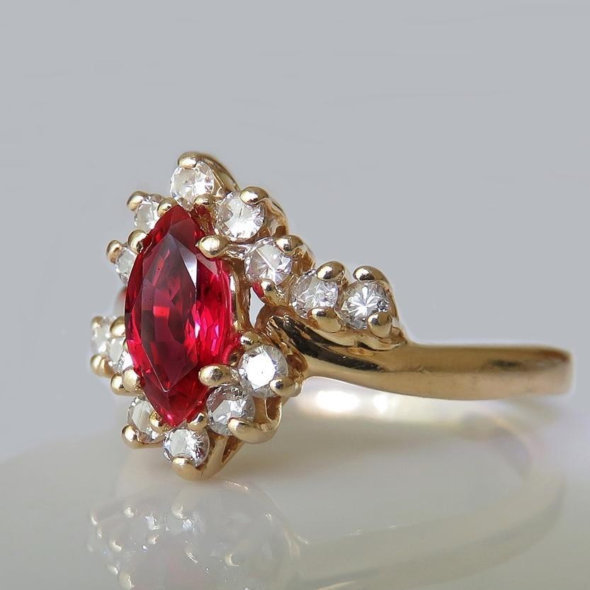 Resultado de imagen para natural ruby rings