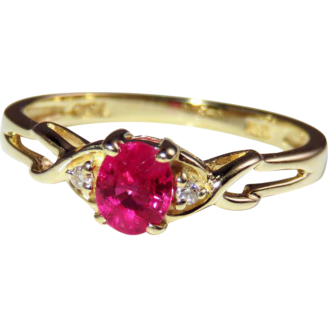 Pink Shire Engagement Ring Dainty 0 52
