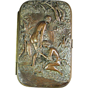 Antique Cigarette Cases Victorian Cigarette Case Calling Card Case Cigarette Holder Dance Purse Antique Purse Edwardian Cigarette Case