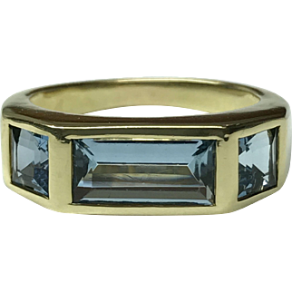 Tiffany & Co. Paloma Picasso 18 Karat Green Tourmaline Ring