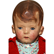 """17"""" Important and Rare Kathe Kruse Type Mystery Doll"""