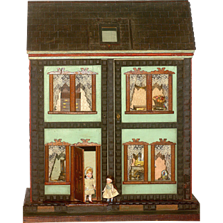 Important F.A.O. Schwarz 1890's 'Mystery House' in Rare Small Size