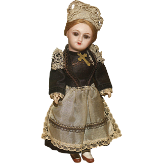 """Cabinet Mint  6""""  French Festival Doll in her Factory Original Costume"""