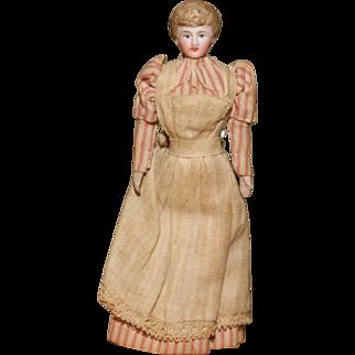 """5"""" All Original Edwardian Lady Dollhouse Nursemaid"""