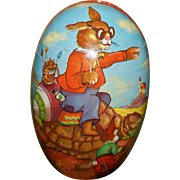 The Tortoise and The Hare Easter Egg Candy Container