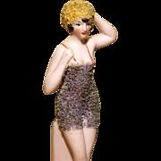 "A MATRIX SUMMER SOUVENIR !!  Very Fine  3.5"" Pebbled Bathing Beauty by Hertwig"