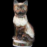 Jim Beam Kentucky Regal China Cat 1967 Trophy Bottle, C Miller