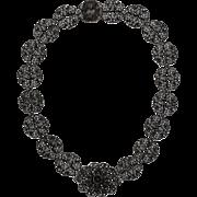 Phenomenal Berlin Iron Necklace c. 1820-30