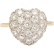 Beloved Diamond Heart Ring