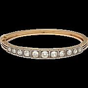 An Old Mine Diamond of Elegance c. 1880