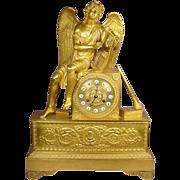 Extraordinary Circa 1800 French Angel Clock