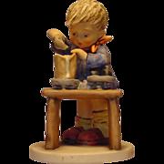 "Hummel Figurine #345 ""A Fair Measure"" Trademark 5"