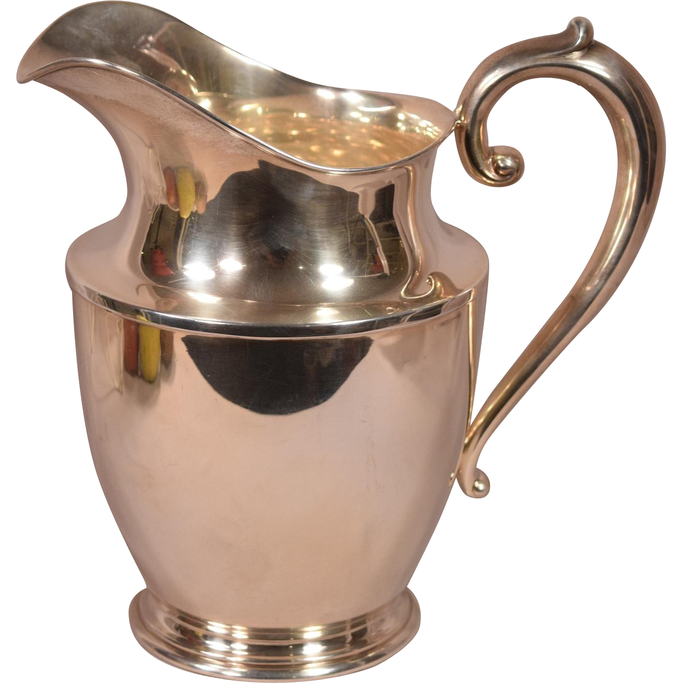 wallace sterling silver pitcher 201 4 1 2 pints troy ounces from beverlyhillsantiques on. Black Bedroom Furniture Sets. Home Design Ideas