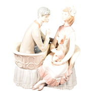 """Lladro Porcelain Figurine Model #4830 """"You And Me"""""""