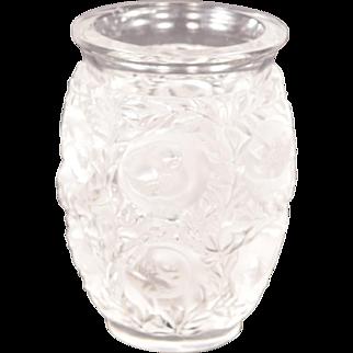 Lalique Bagatelle Vase MSRP $1,200