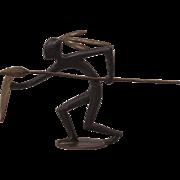 Hagenauer Austrian Art Deco Bronze Of An African Warrior