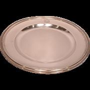 Rare Very Large Antique Signed Christofle Platter Royal Crest & Numbered 1582953