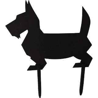 Dog boot scraper