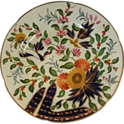 """Coalport """"Finger and Thumb"""" pattern plate"""