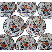 A Set of Eight W Ridgway Ironstone Dinner Plates