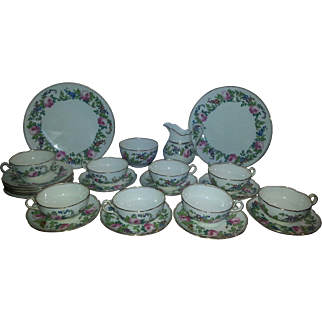 An early 20th Century Minton Part Tea Service.