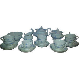 A 19th Century Staffordshire Tea Service by Hilditch