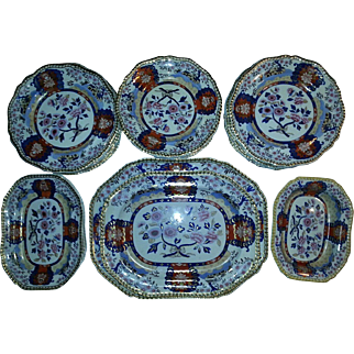 A Spode Imperial Ironstone Part Dinner Service