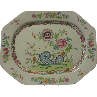 A Large Spode Stone China Platter