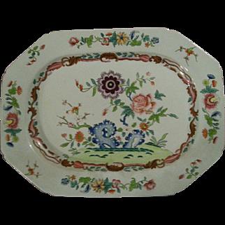 """A 17"""" Spode Stone China Platter"""