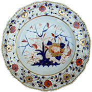 An early 19th Century Derby Dinner Plate