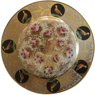 A 19th Century English Cabinet Plate, Probably Derby.