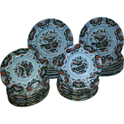 Twenty Nine Mason's Ironstone plates