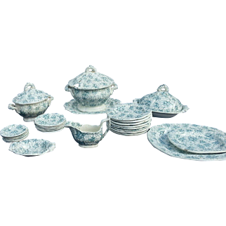 A 19th Century English Child's Toy Dinner Service