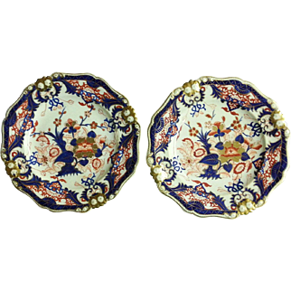 """A Pair of Bloor Derby 9"""" Plates"""