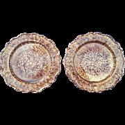 A Pair of Whieldon Creamware Plates