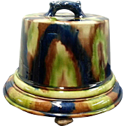 A Majolica Cheese Dome and Cover by Thomas Forester,  Staffordshire