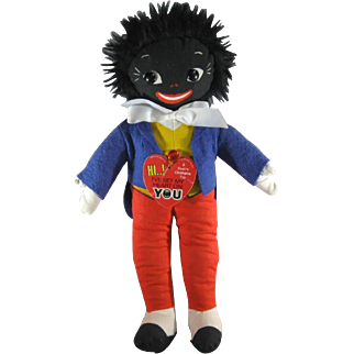 Golly Golliwog Doll, Dean's Sussex England, Perfume Go-with Collectible.