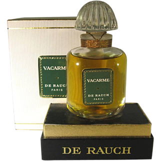 Vacarme Perfume by Madeleine de Rauche, 1 oz Unopened New In Box.