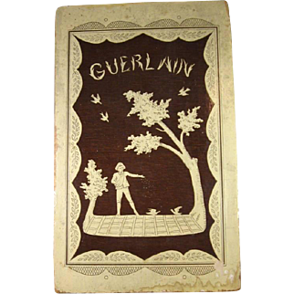 Box Only for Early Guerlain Very Large Perfume Bottle, C.1912.